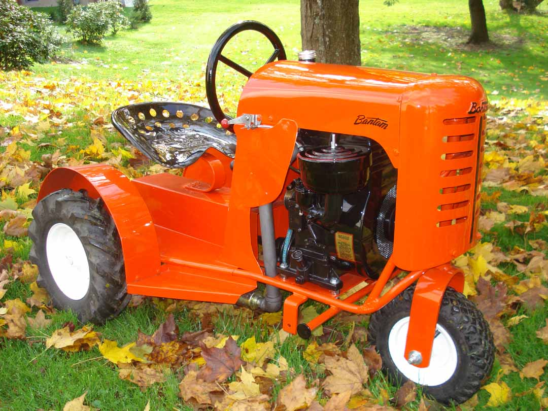 Bantam tractors for sale for Garden machinery for sale